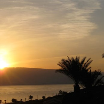 Sunset in Galilee