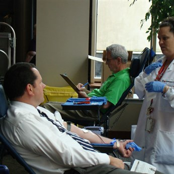 Hoxworth Blood Center Blood Drive