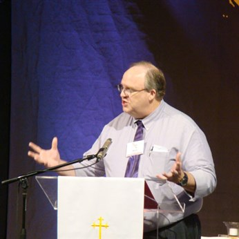 Organizational Session & Worshipful Work/Plenary -Rev. Mark Shepherd speaks about Change for Change