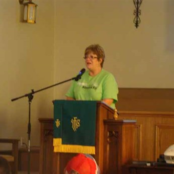 Cathy Sparks, disaster response coordinator for Prater Memorial UMC, Salyersville