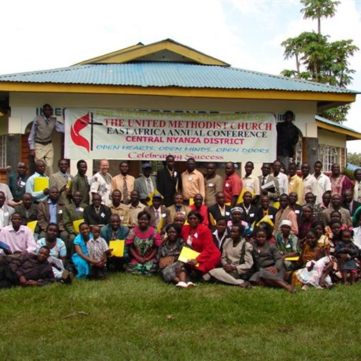Participans of the pastor training for South and Central Nyanza Districts