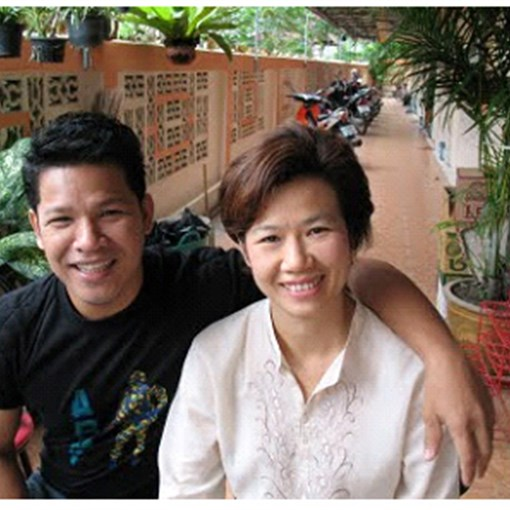 Peter and Nuc, future church planters in Thailand